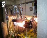 600W water cooled high pressure sodium light in use.