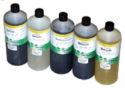 HydroTops biOpOnic Grow A & B for hard water, HydroTops biOpOnic FloralBoost, HydroTops biOpOnic Bloom a & B for hard water.